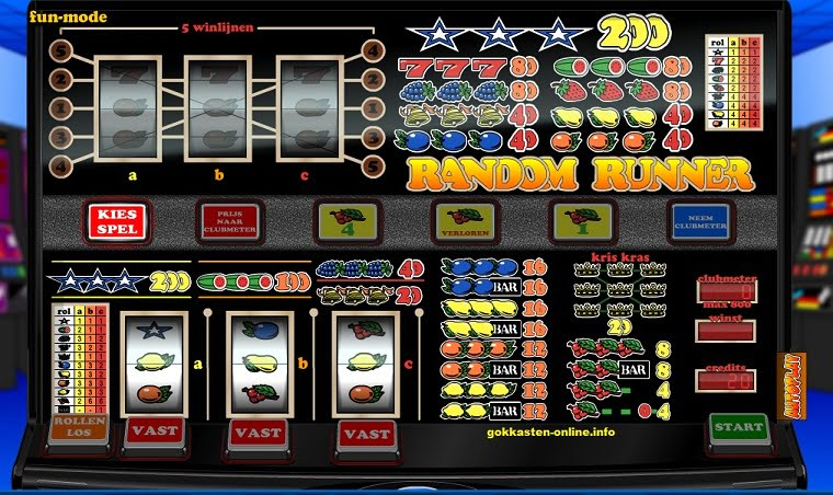 Random Runner Fruitmachine