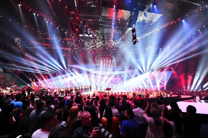 online wedden op het Eurovisie Songfestival