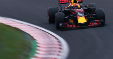 Verstappen in Spanje